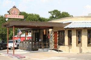 Corner Bar is on South Lamar by Austin Pizza