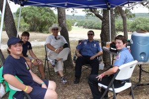 Pedernales Fire Department at Willie Nelson Golf Tournament