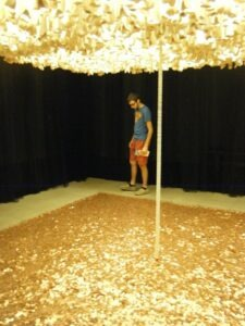 Blanton Art Museum Penny Exhibit