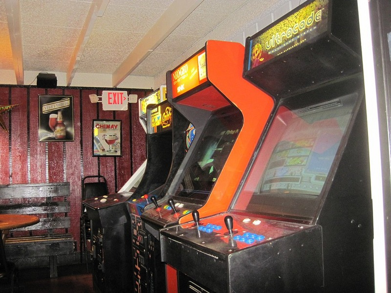 Arcade Video Games at Billy's on Burnet