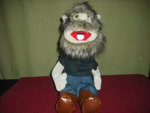 Spunky Creek custom puppet