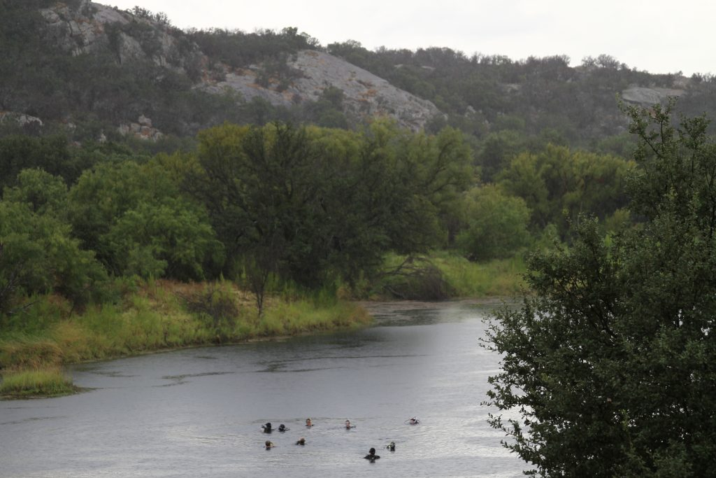 Scuba Diving Texas Hill Country at Reveille Peak Ranch