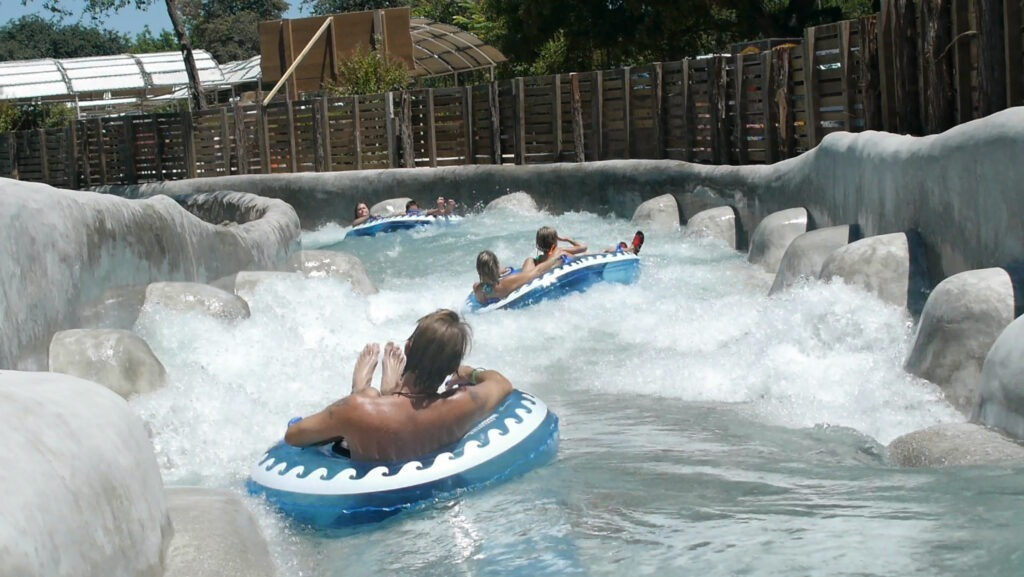 The Falls Ride at Schlitterbahn in New Braunfels