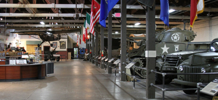 Austin Texas Military Forces Museum at Camp Mabry