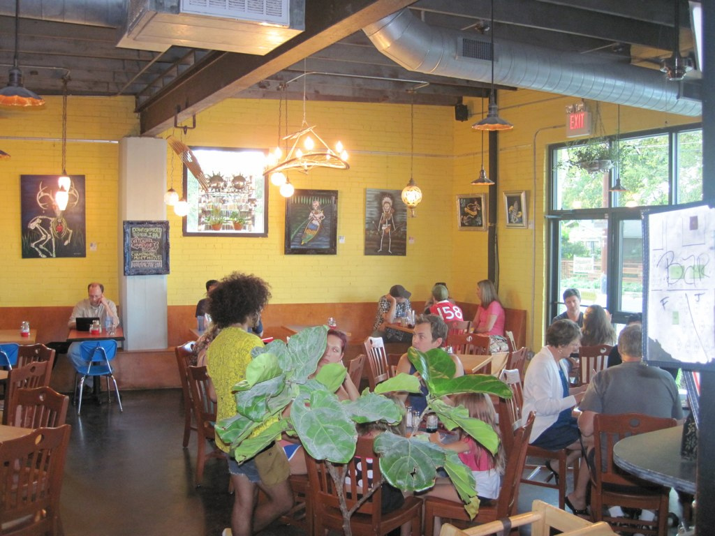 Bouldin Creek Coffeehouse Dining Room