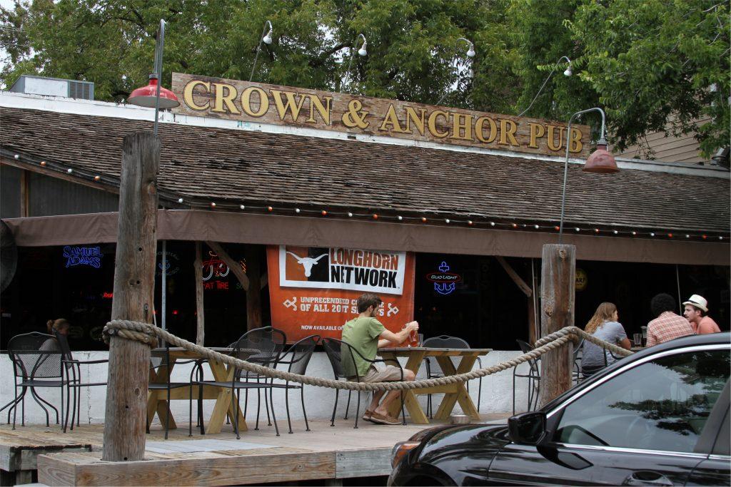 Crown and Anchor Pub in Austin, TX