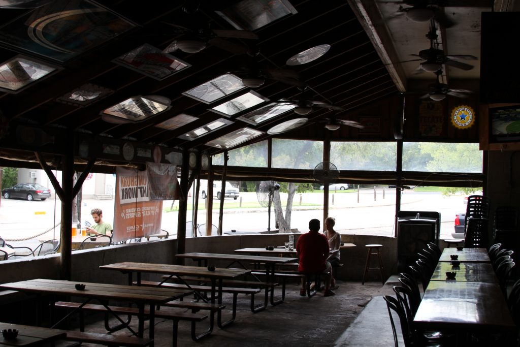 Covered Patio at Crown and Anchor Pub