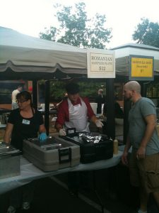 Romanian Food and Shish Ka Bob at Austin Mediterranean Festival