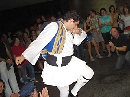 Dance Demonstration at the St Elias Mediterranean Festival