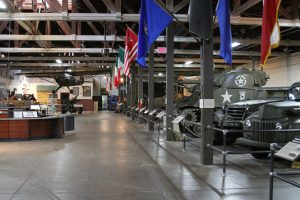 The Texas Military Forces Museum Great Hall in Austin Texas