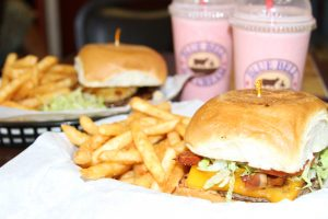 Moonie's Burger House with Blue Bell Shakes