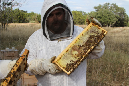 Round Rock Honey Founder Konrad Bouffard