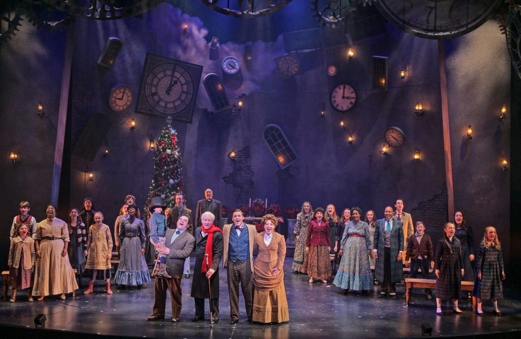 A Christmas Carol at Zach Theatre in Austin