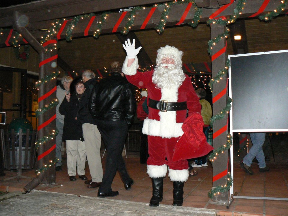 Santa Claus at Lyndon B. Johnson State Park