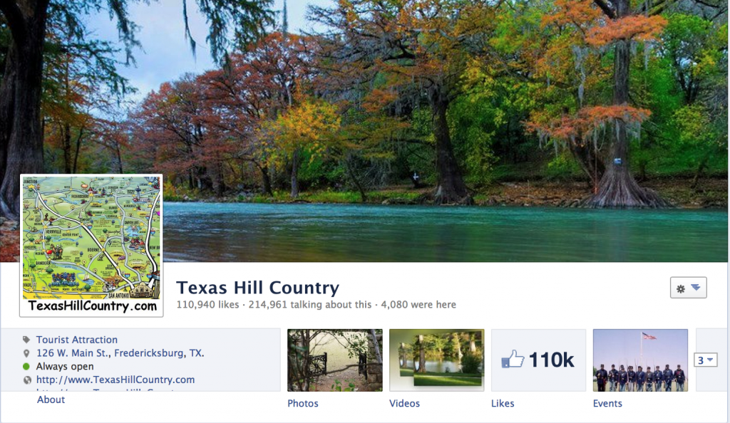 Texas Hill Country on Facebook