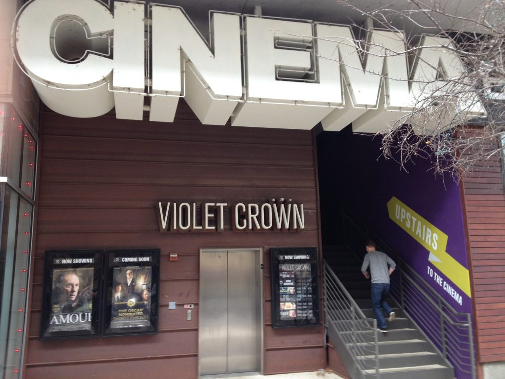 Violet Crown Cinema Austin Exterior