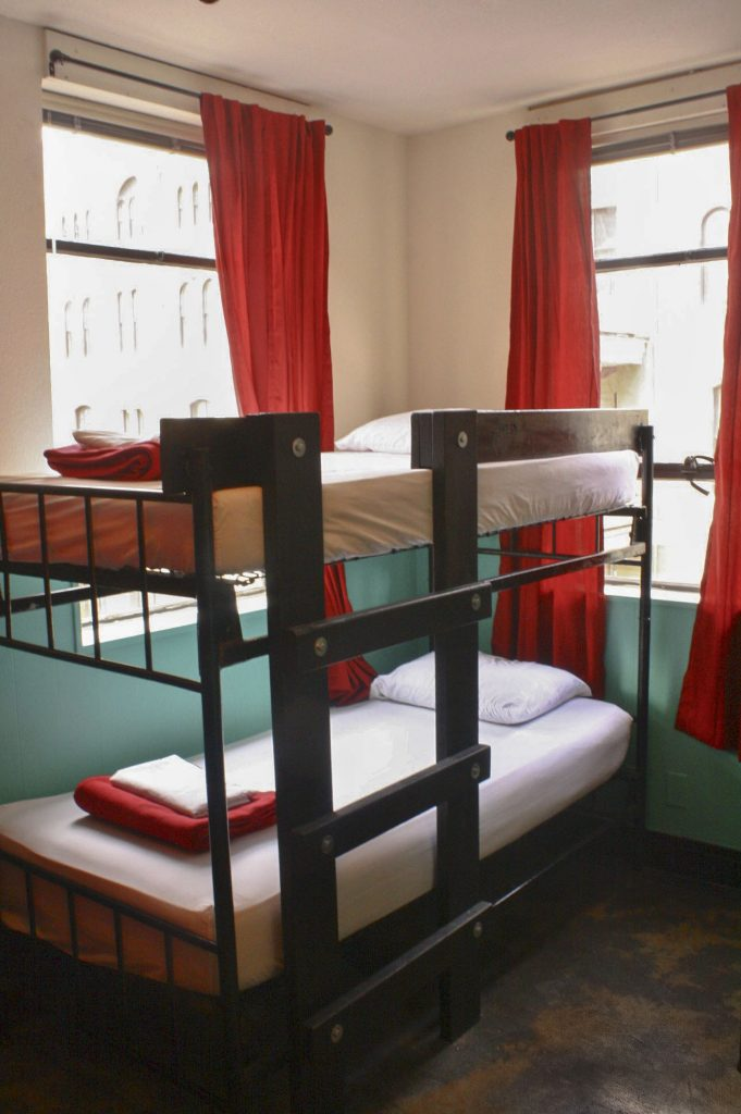 Shared Room at Firehouse Hostel and Lounge