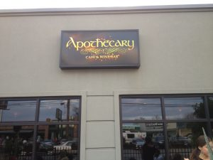 Exterior at Apothecary Austin Cafe & Wine Bar