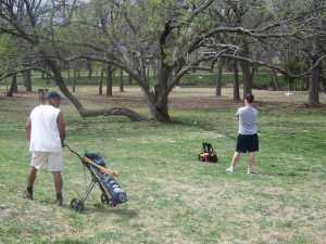 Straight Forward Wells Branch Disc Golf Course