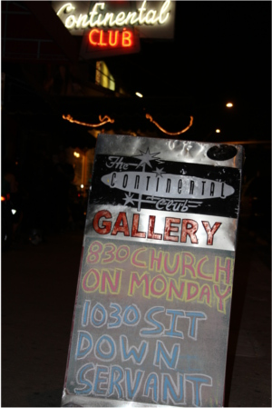 Church on Monday at Continental Club Gallery