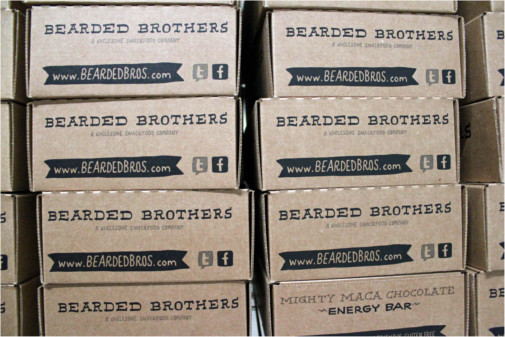 Shipping Bearded Brothers Energy Bars