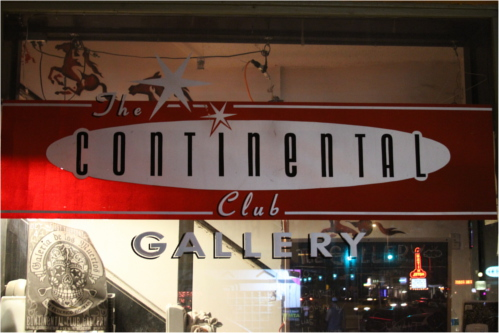 Continental Club Gallery on South Congress