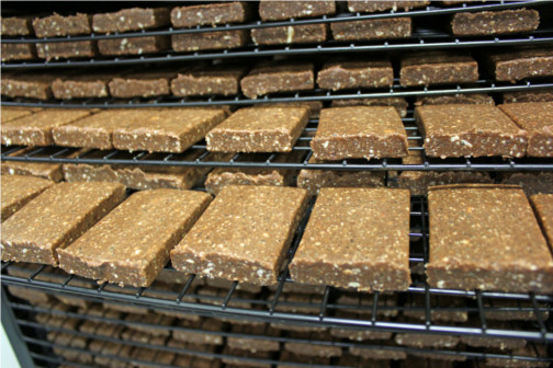 Dehydrating Bearded Brothers Energy Bars