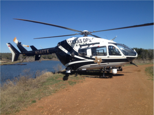 Texas Department of Public Safety helicopter
