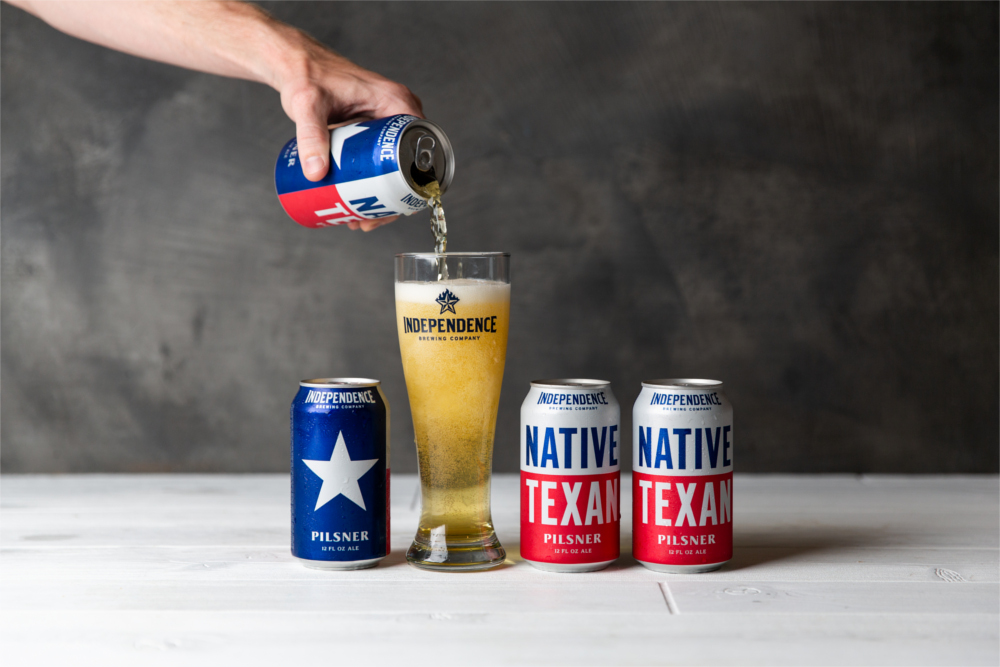 Independence Brewing Co. Native Texan