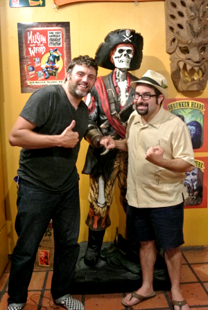 Steve Busti Owner of Museum of the Weird