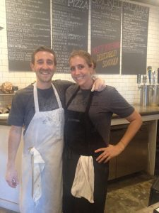 Josh and Paige Kaner at Pieous
