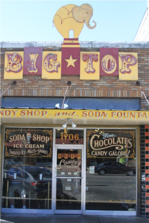 Big Top Candy Shop Austin TX