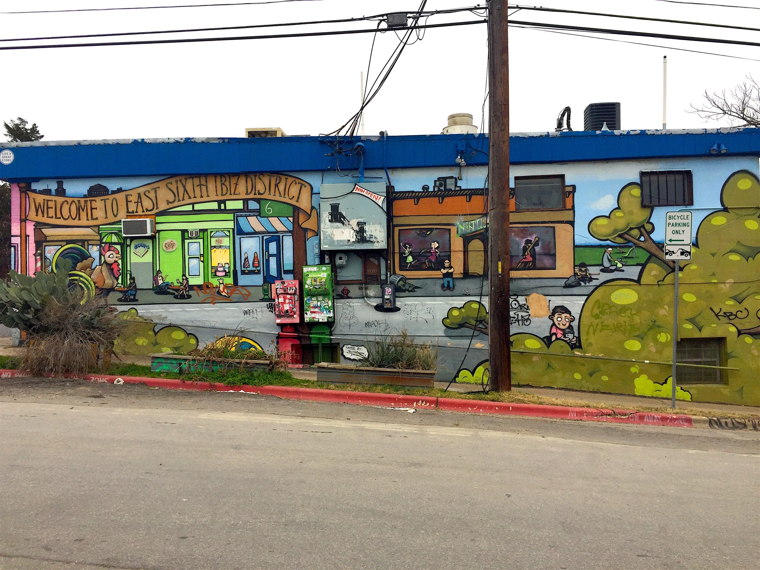 6th street and waller street