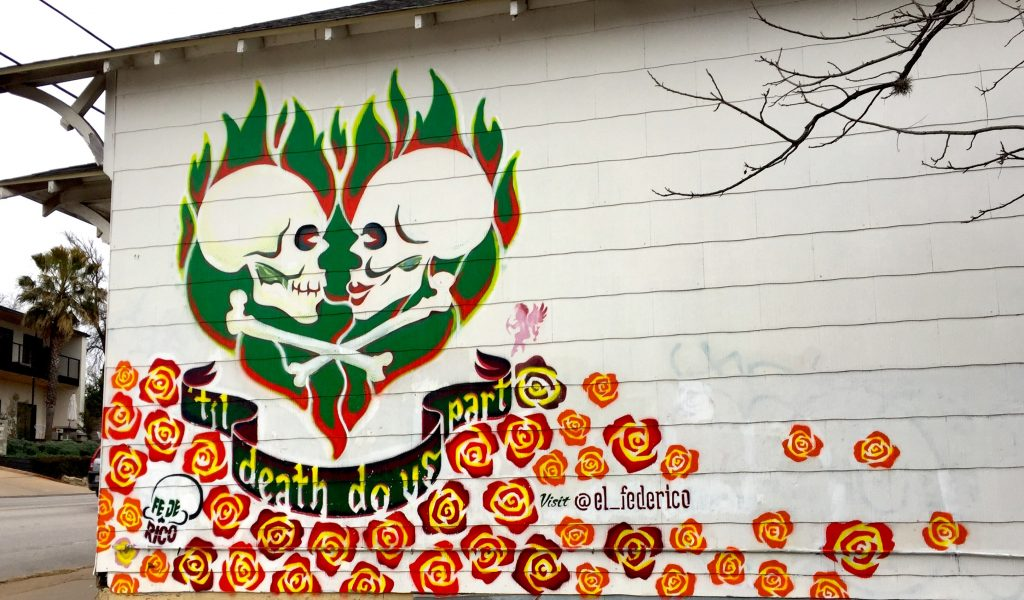 Til Death Do Us Part Austin Mural