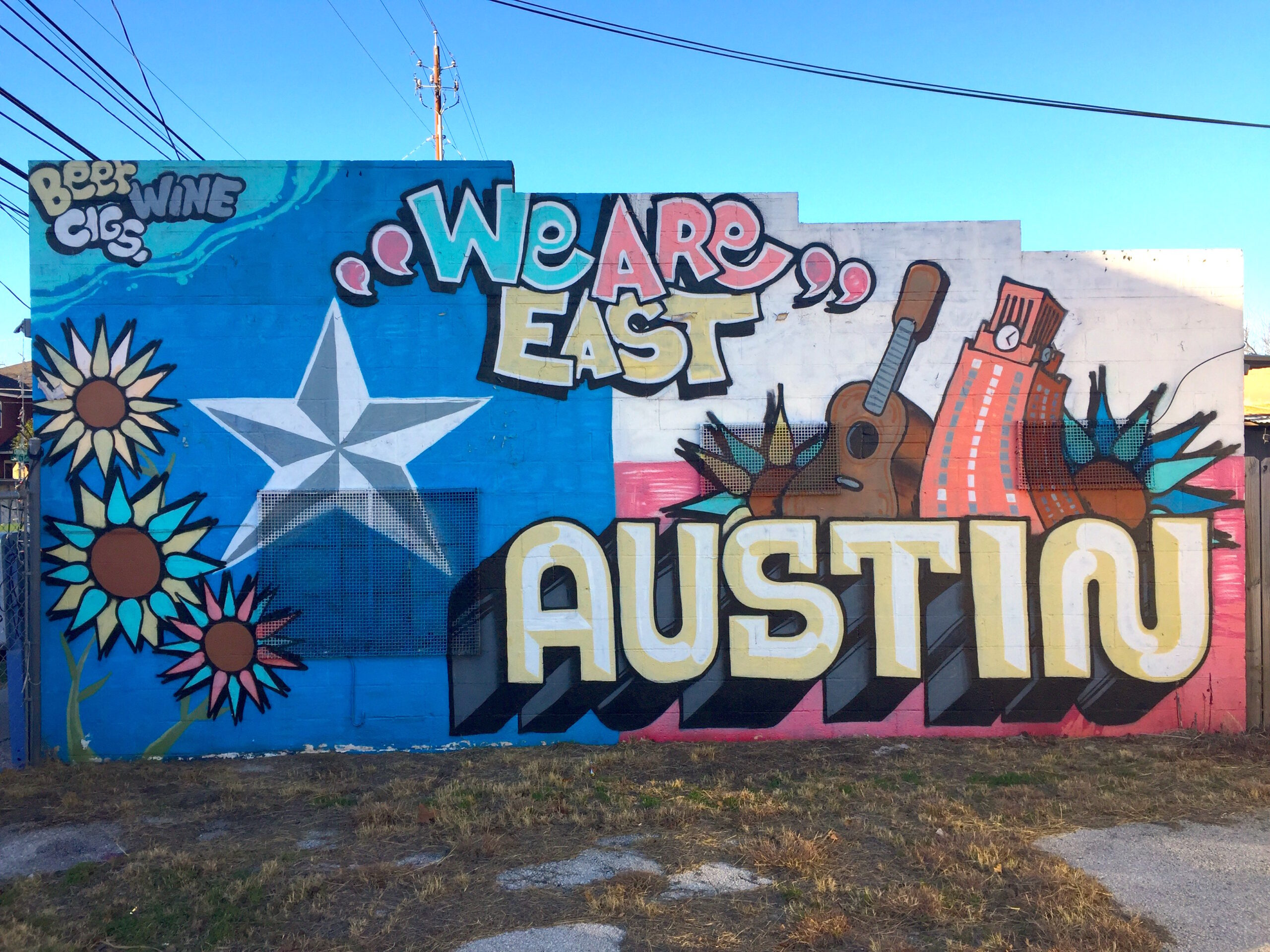 1215 Chicon St. & Everything You Donu0027t Know About the Best Murals in Austin