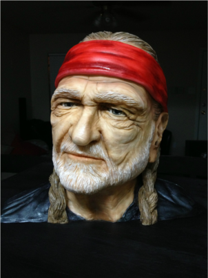 Willie Nelson Cake Sideserf