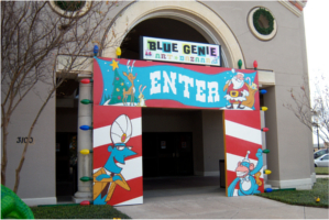 Blue Genie Art Bazaar Location