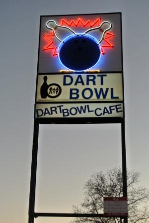 Dart Bowl Bowling Alley Austin