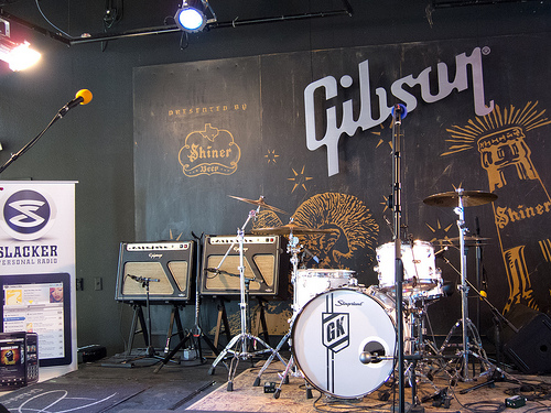 Gibson Brands Showroom Austin