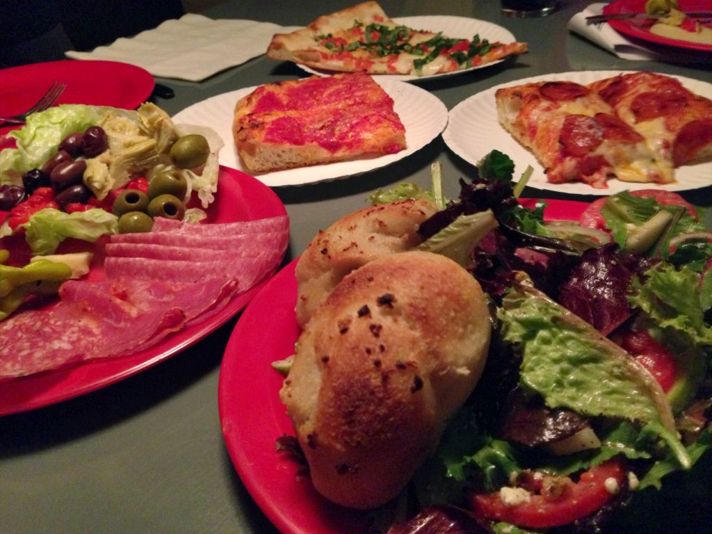 Home Slice Pizza and Salad
