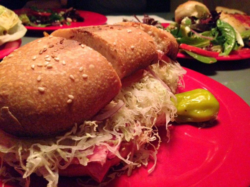 Italian Assorted Sub at Home Slice Pizza