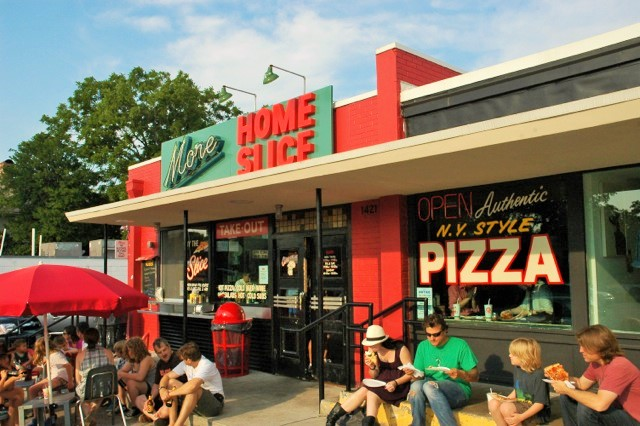 More Home Slice Pizza in Austin