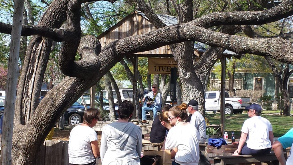 The Grapevine in Gruene TX