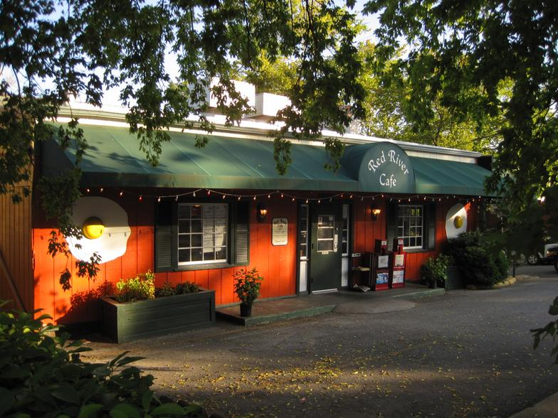 Red River Cafe Exterior