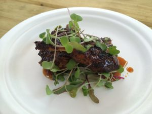 Quail Dish from The Seedling Truck Austin