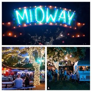 Nighttime at Midway Food Park