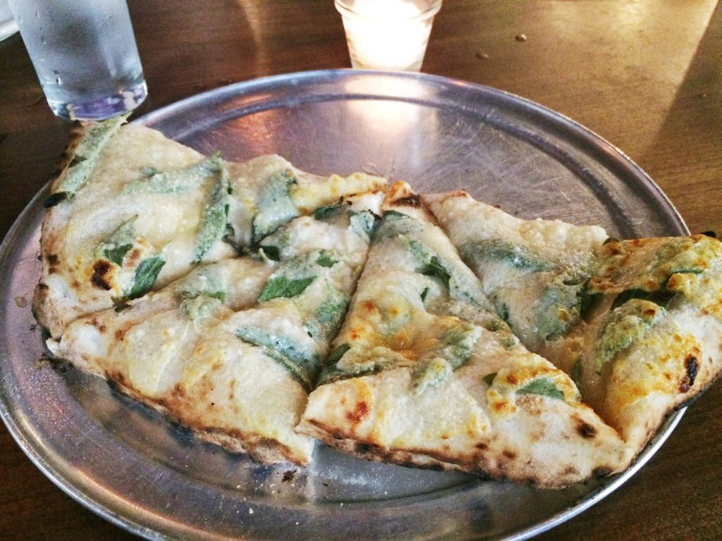 Pizza at Bufalina in Austin