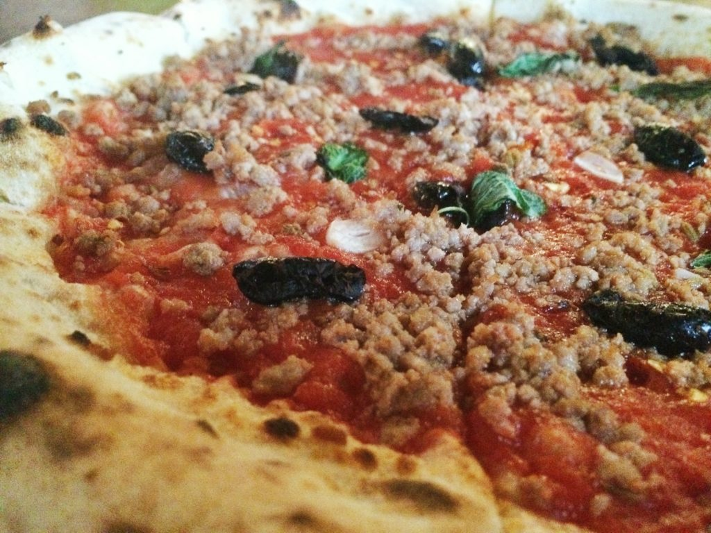 Napoletano Pizza at Bufalina