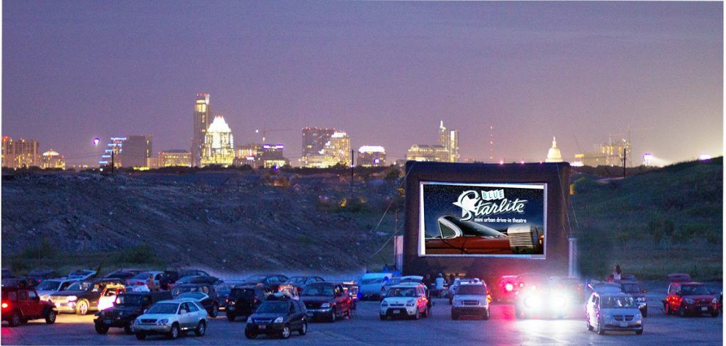 Blue Starlite Drive In Movies