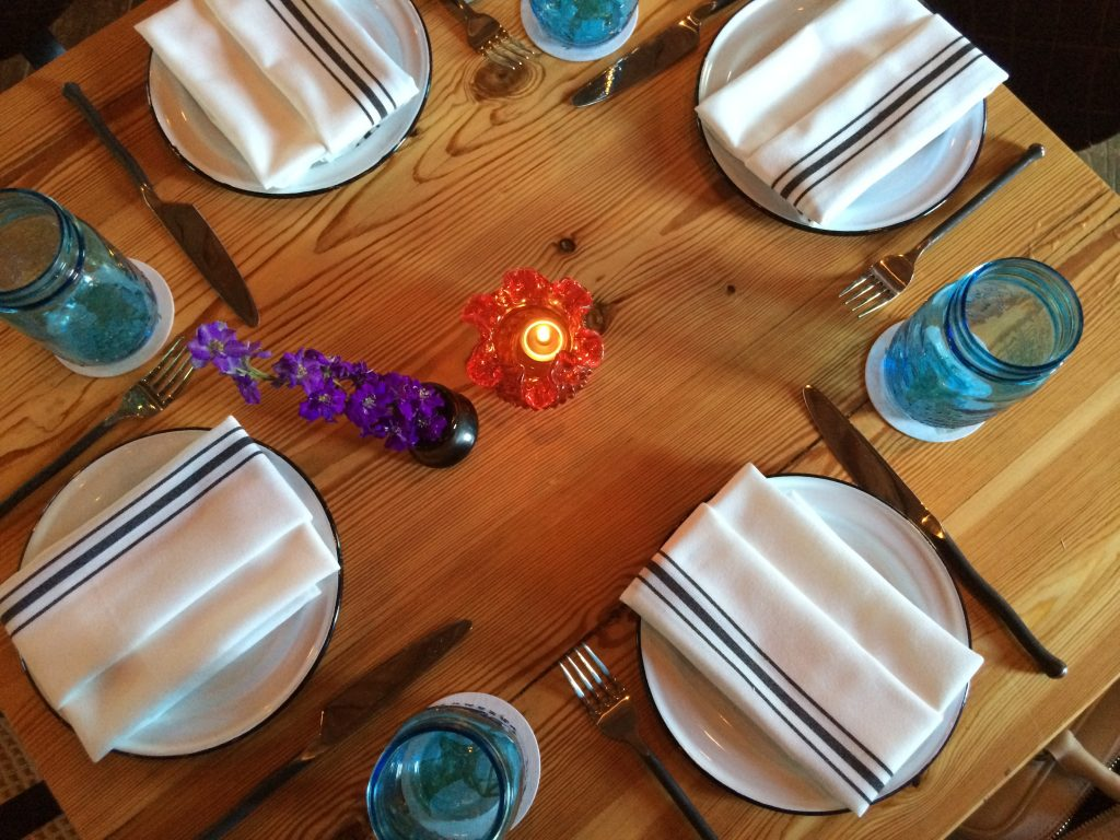 Jacoby's Restaurant Table Setting
